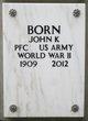 Profile photo:  John K Born