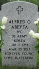 Profile photo:  Alfred Gilbert Abeyta
