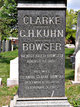 Eleanor <I>Clarke</I> Bowser