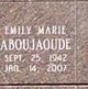 Emily Marie Aboujaoude