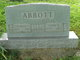 Profile photo:  Mary B. <I>Goble</I> Abbott