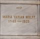 Maria <I>Yarian</I> Wolff