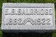 E. Berthold Baldridge