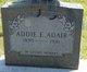 Profile photo:  Addie E Adair