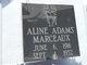 Profile photo:  Aline <I>Adams</I> Marceaux