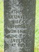 "Profile photo:  Catherine Elizabeth ""Katie"" <I>Easter</I> Allen"