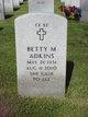 Betty Mae <I>Fye</I> Adkins