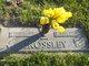 Mary Elizabeth <I>Roebuck</I> Crossley