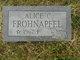 Profile photo:  Alice Corletta Frohnapfel