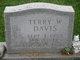 Profile photo:  Terry W. Davis