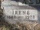Profile photo:  Irene <I>Hale</I> Aldrich
