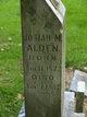 Josiah M Alden