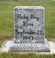 Profile photo:  Baby Boy Roos
