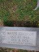 Maxine Stevenson