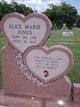 Alice Marie <I>Stevenson</I> Jones