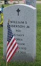 Profile photo:  William S. Anderson Jr.