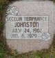 Secelle Temperance <I>Shupe</I> Johnston
