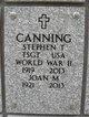 Profile photo:  Stephen Theodore Canning