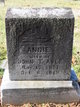 Annie Belle <I>Rector</I> Abee