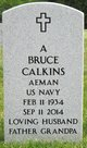 Profile photo:  Albert Bruce Calkins