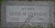 """Edith M """"Marie"""" <I>Williams</I> Gilreath"""