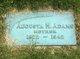 Augusta M Adams