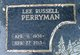 Profile photo:  Lee Russell Perryman