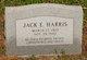 Profile photo:  Jack E. Harris