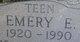 "Profile photo:  Emery Eugene ""Teen"" Nigh"