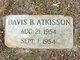 Profile photo:  Davis B Atkisson