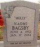 "Profile photo:  Naomi ""Molly"" Bagsby"