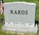 "Profile photo:  Anna ""Anita"" <I>Spirko</I> Rakos"