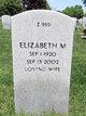 Profile photo:  Elizabeth M <I>Wunder</I> Northup
