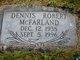 Dennis Robert McFarland