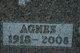 Profile photo:  Agnes <I>DeVries</I> Schultz