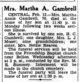 Martha Annis <I>Cobb</I> Gambrell