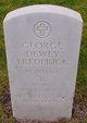 Profile photo:  George Dewey Frederick