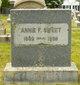 Profile photo:  Annie F. <I>Potter</I> Sweet