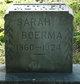 Sarah <I>Bush</I> Boerma