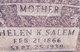 Helen <I>Kaddis</I> Salem