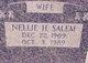 Nellie Marie <I>Hanainy</I> Salem