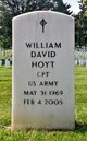 Capt  William David Hoyt