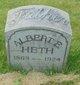 Profile photo:  Albert E Heth