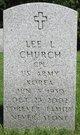 Lee L Church