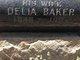Delia <I>Cusson Sorell</I> Baker