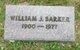 William Jesse Barker