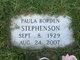 Paula <I>Borden</I> Stephenson