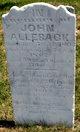 John Alleback