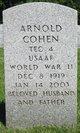 Profile photo:  Arnold Cohen