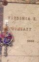 Virginia Ruth <I>Keller</I> Wimsatt